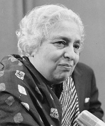 Pandit, Vijaya Lockshmi (Sarige Nehru)