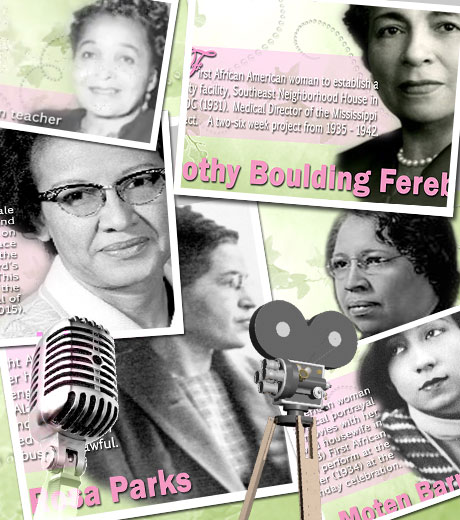 Hear the voice of our pioneering sorors