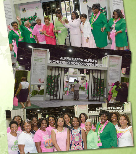 AKA Pioneering Sorors Open Doors Exhibit at the 67th Boule, July 9, 2016