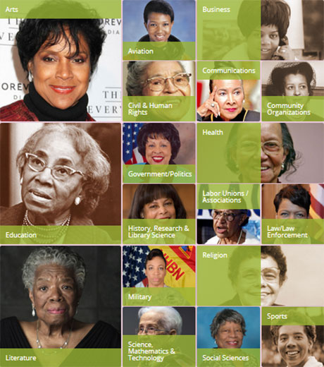 Sorors who have pioneered in their communities & professions.