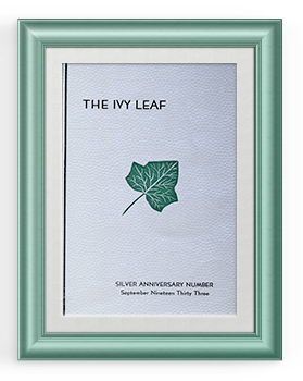 25th anniversary ivy leaf cover 350