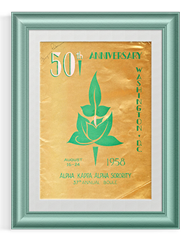 50th Anniversary boule cover