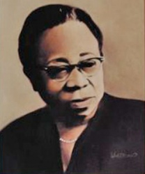 Porter, Maude E (Brown) - Seventh International President