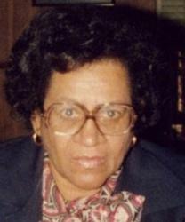 Webb, Alfreda Johnson